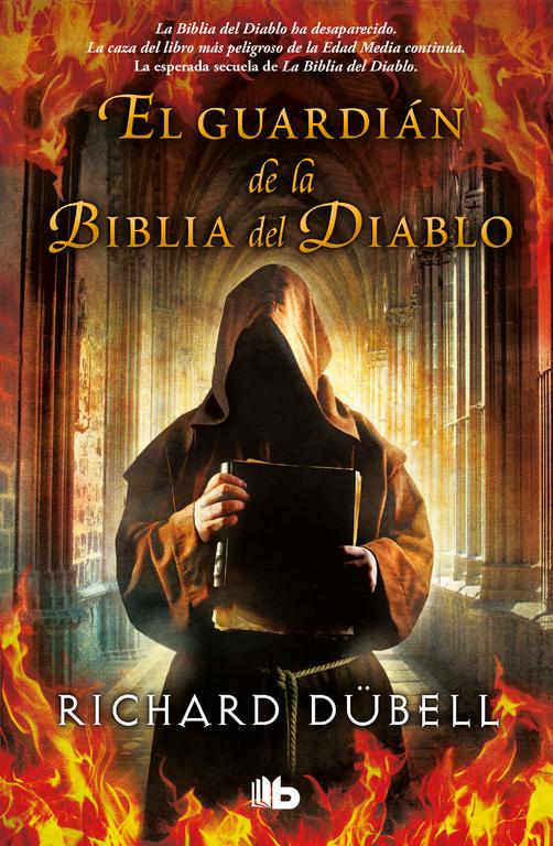 Portada de El guardián de la Biblia del Diablo de Richard Dübell