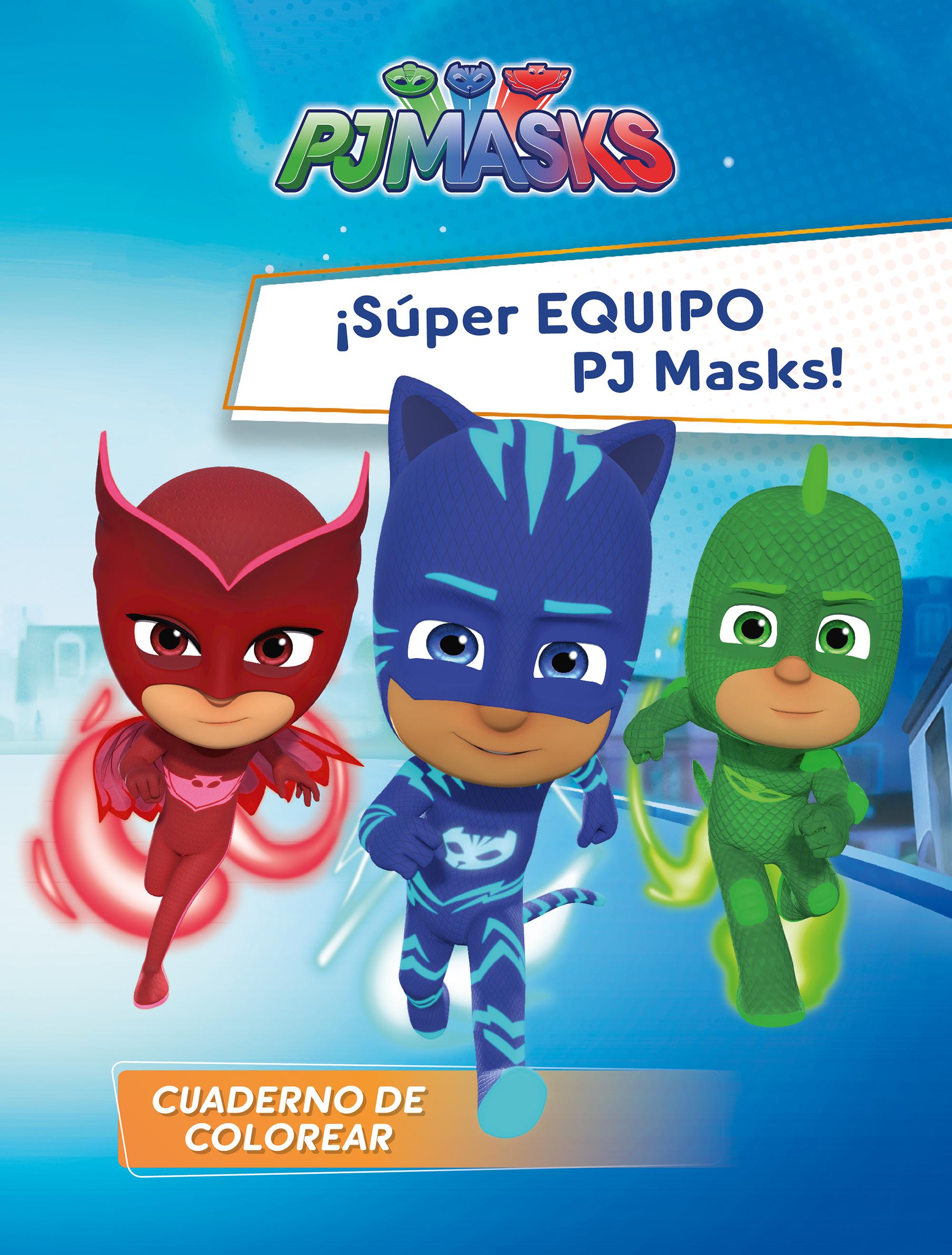 Portada de ¡Súper Equipo PJ Masks! (PJ Masks. Actividades) de Varios autores