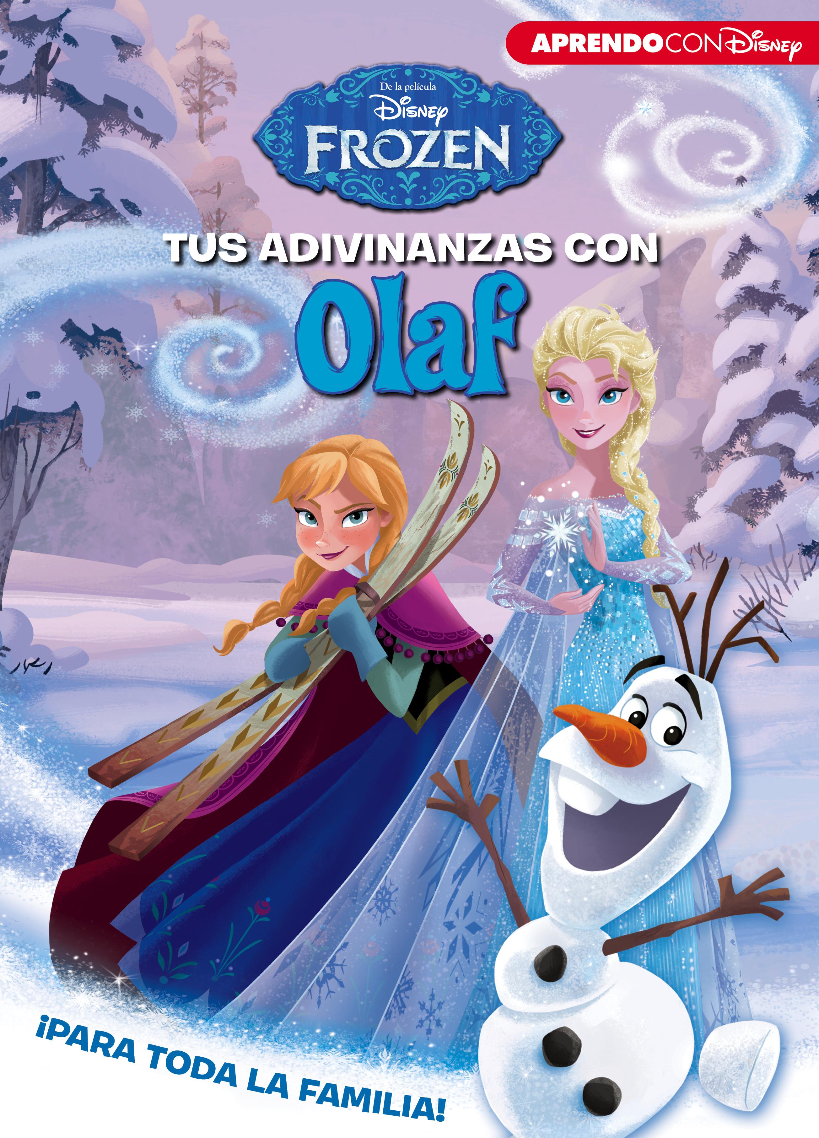 Portada de Tus adivinanzas con Olaf de Disney