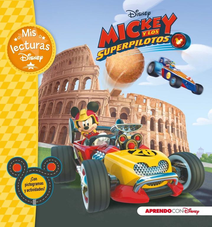 Portada de Mickey y los superpilotos (Mis lecturas Disney) de Disney