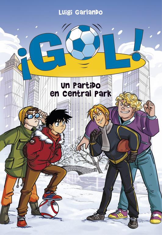 Portada de Un partido en Central Park (Serie ¡Gol! 43) de Luigi Garlando