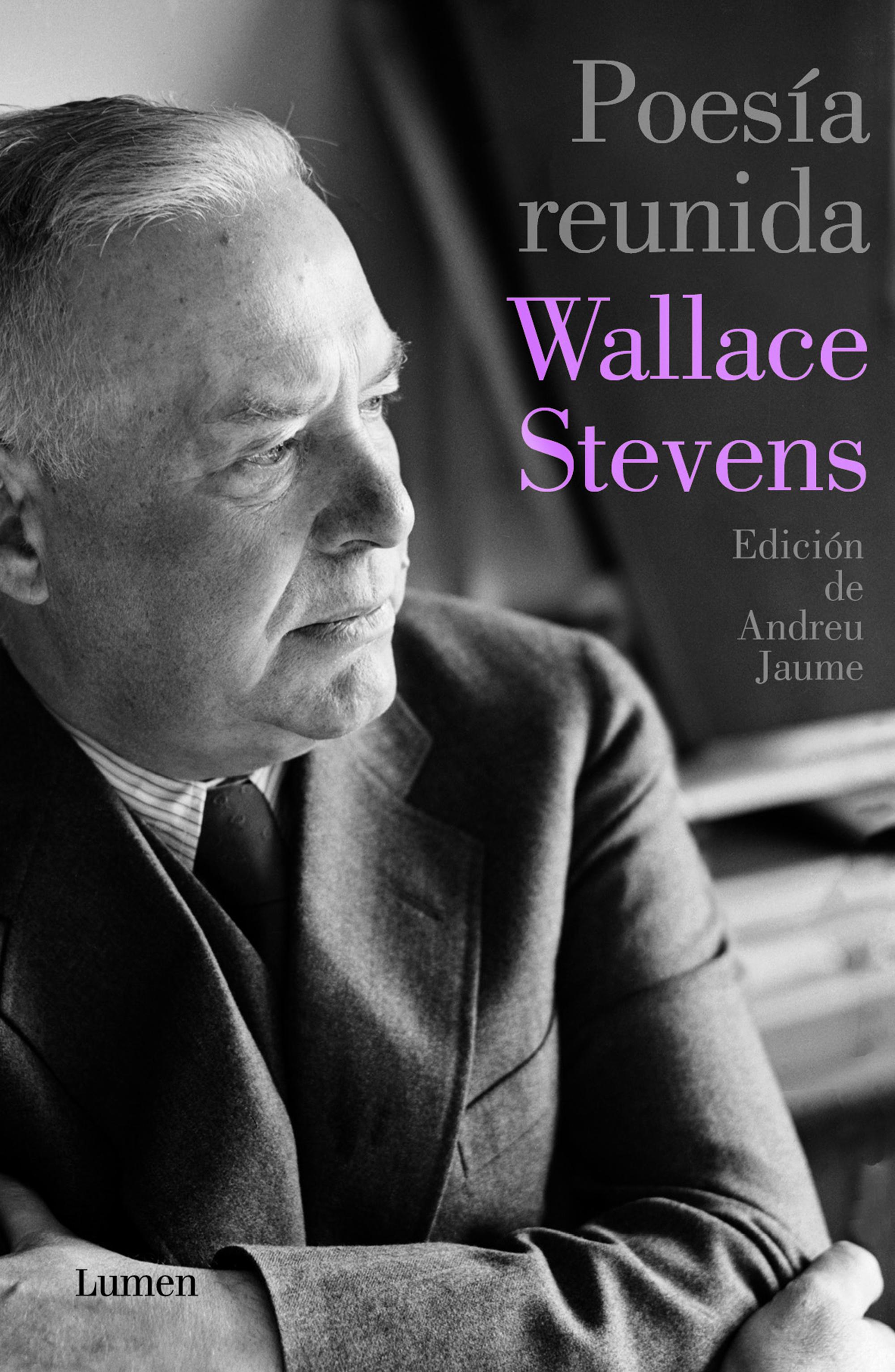 Portada de Poesía reunida de Wallace Stevens