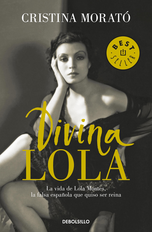 Portada de Divina Lola de Cristina Morató