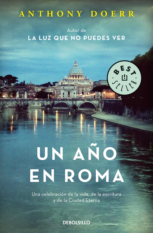 Portada de Un año en Roma de Anthony Doerr
