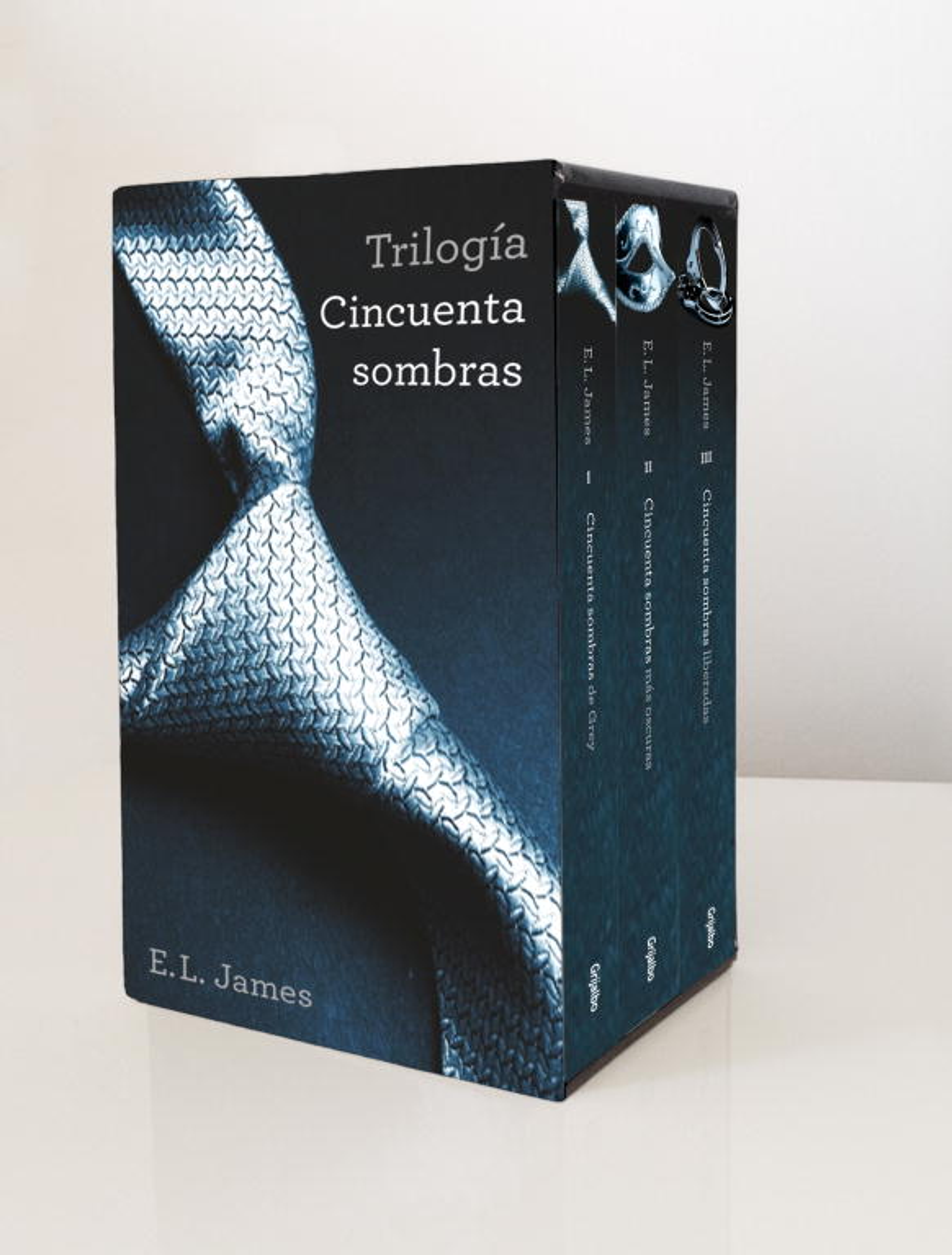 Trilogía Cincuenta Sombras (de Grey)